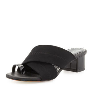 Donald JPliner 'Mara' Stretch-Mesh Toe Ring Sandal